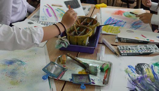 美術による学びの成長ストーリーvol.05描く楽しさ、つくる喜び