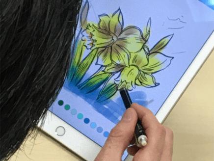 高齢者アートで才能開花?