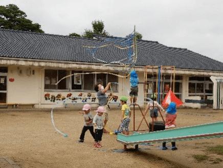「吹き流し遊び」から10の姿と生活科内容(6)との関連を考える(幼稚園・保育所・こども園)