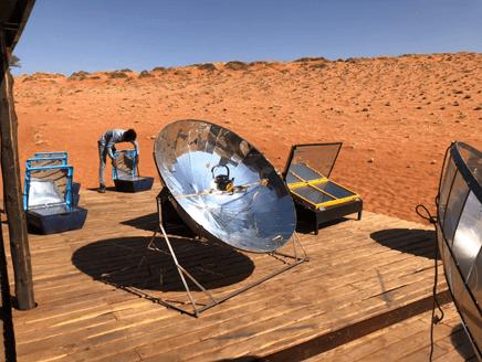 アフリカの砂漠でサスティナブルライフ:地球にやさしいESD