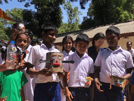 スリランカの小学校におけるESDワークショップ ―ゴミ・アート作品づくりを通したSELの実践―