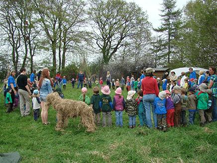 ドイツの森の幼稚園:新しい学びや育ちの捉え方・評価の在り方を求めて