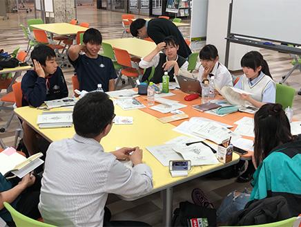 展開する「福島市を創る高校生ネットワーク」